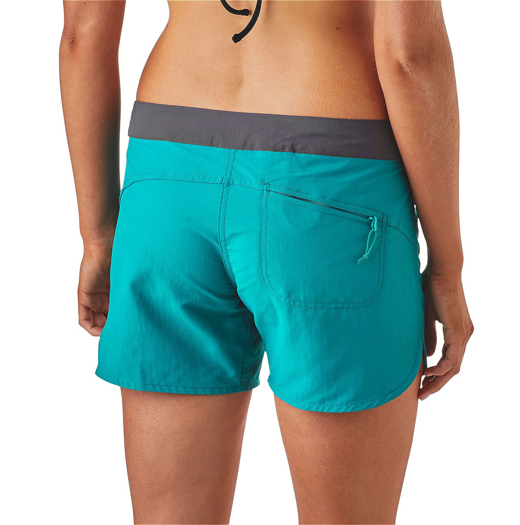 Women's board shorts by Patagonia, Back
