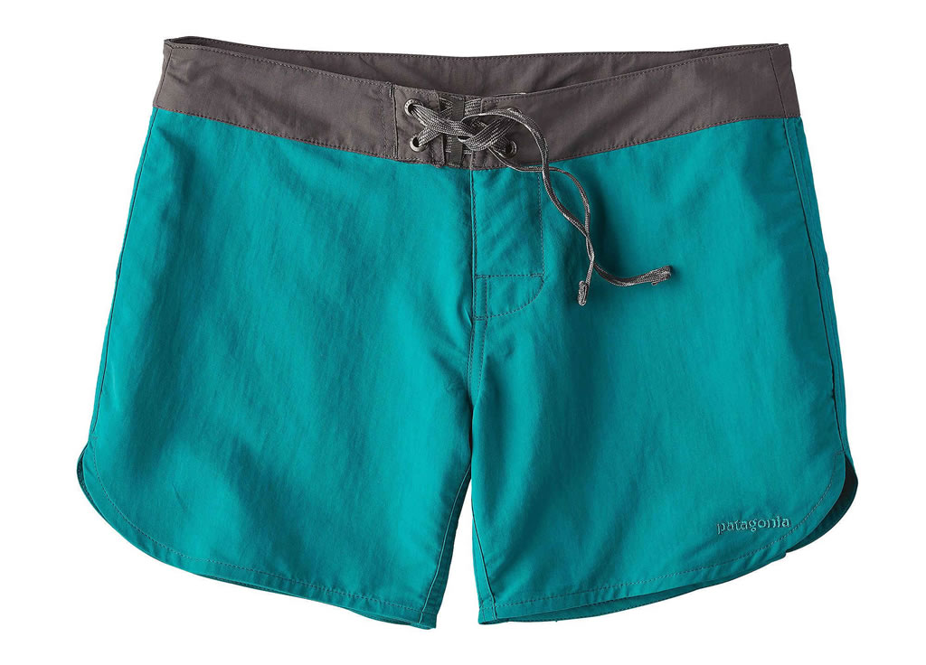 Women's board shorts by Patagonia