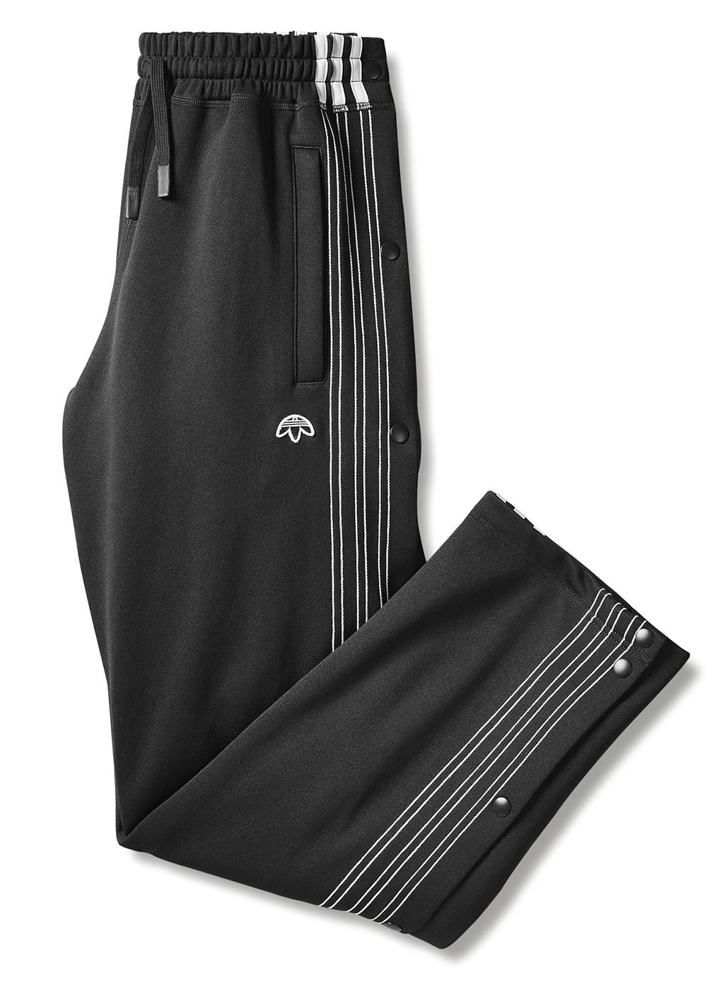 Black AW Track Pants by Adidas Originals