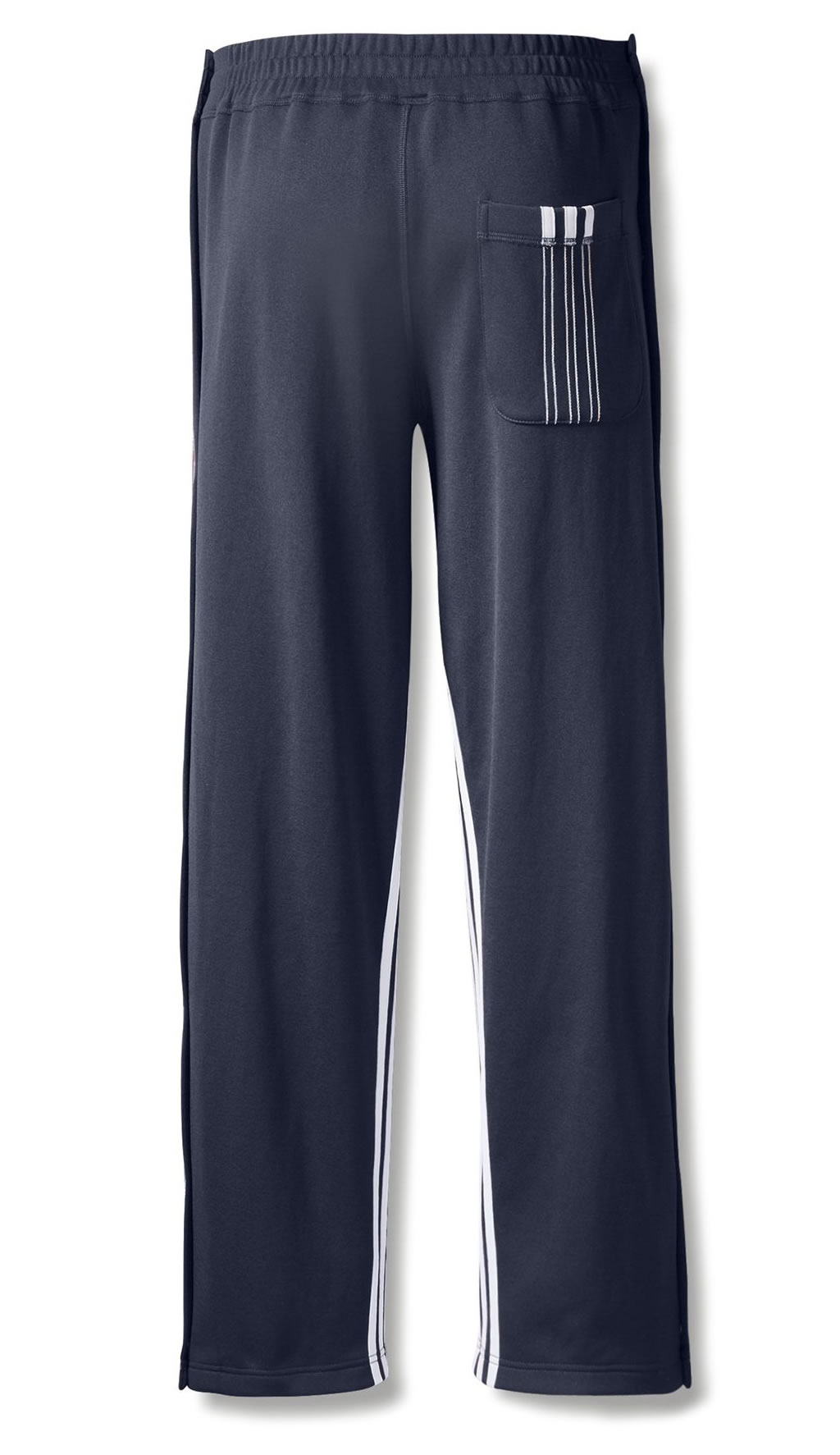 Blue AW Track Pants by Adidas Originals , Back