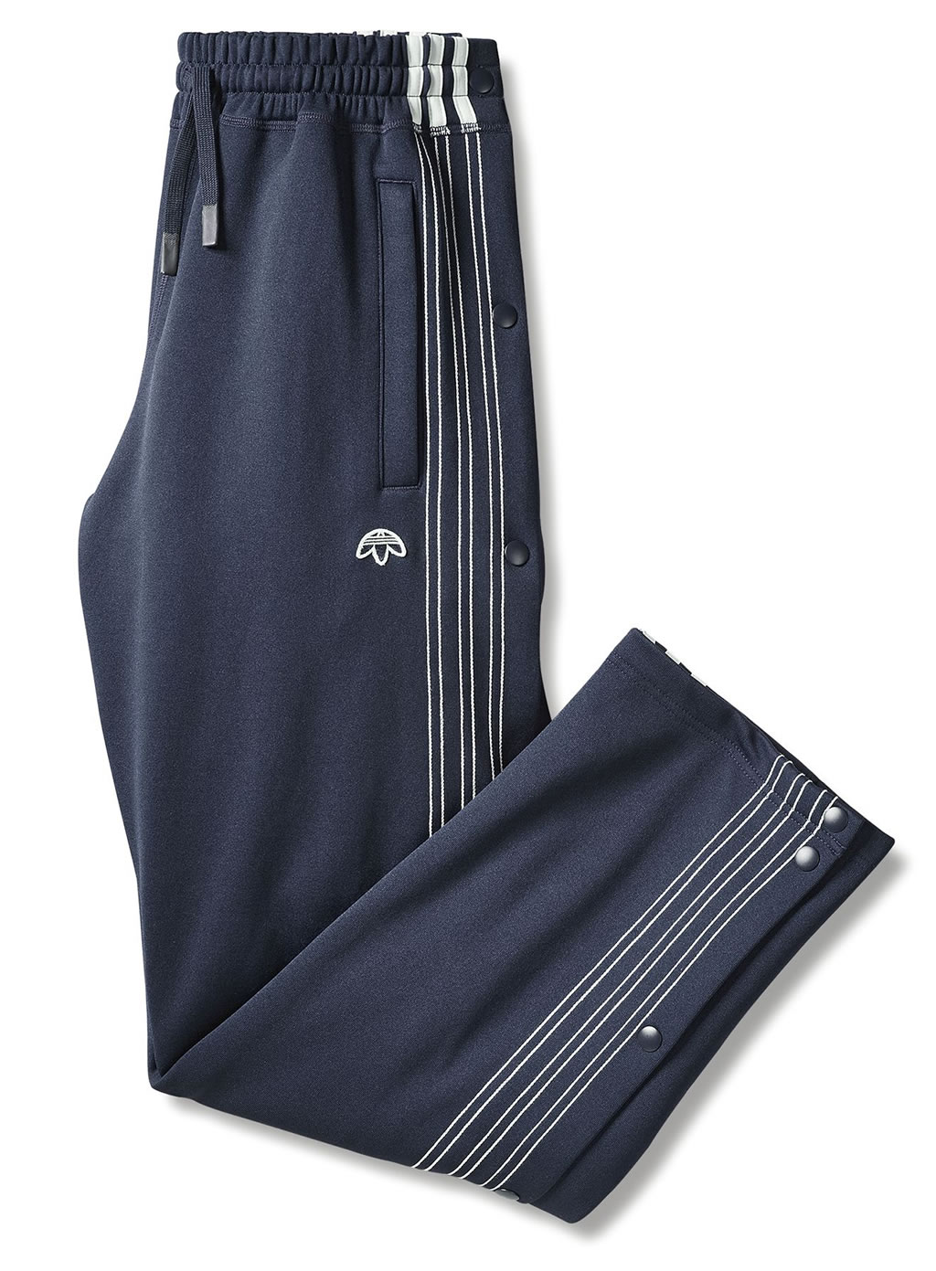 Blue AW Track Pants by Adidas Originals