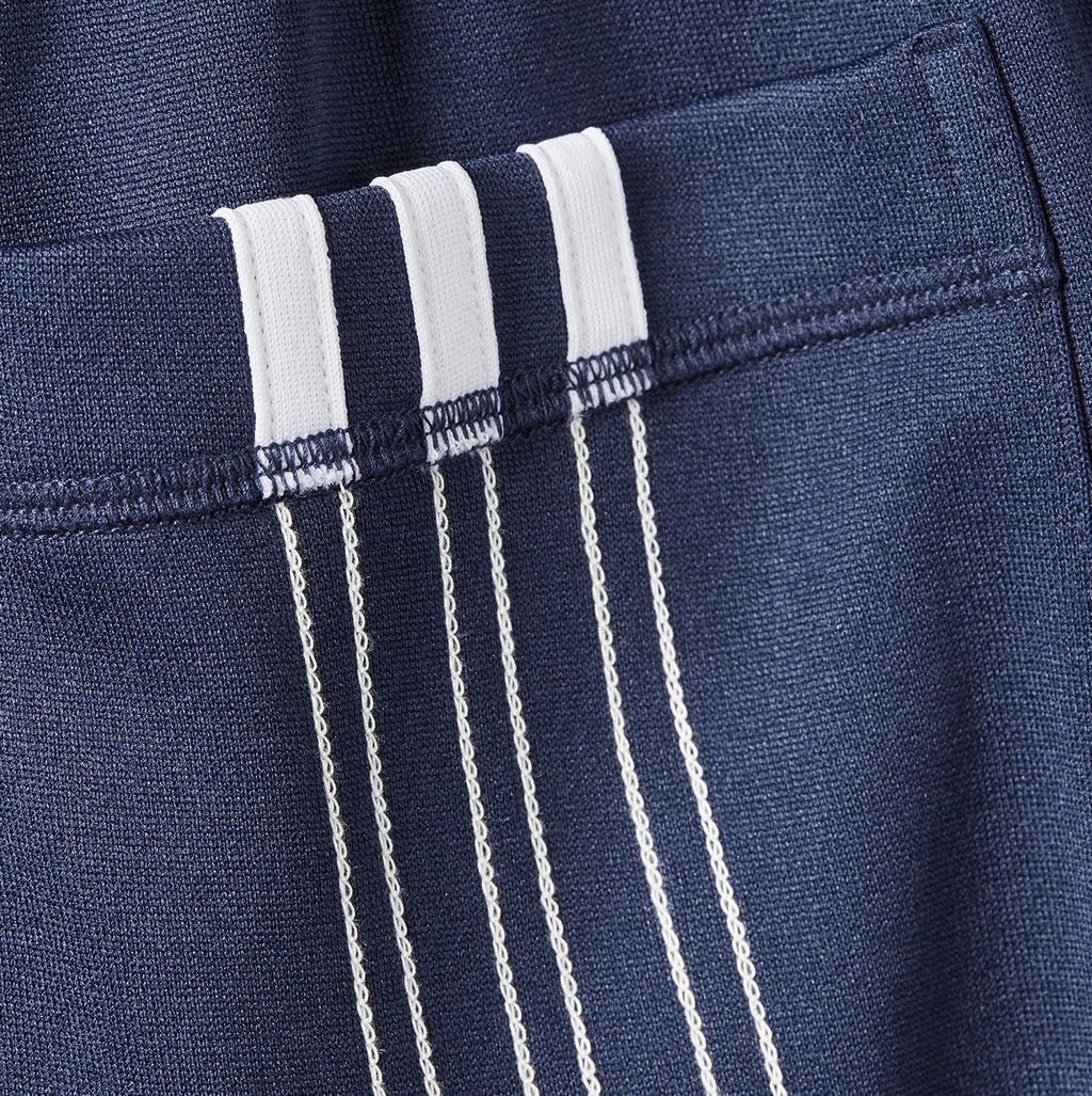 Blue Alexander Wang Women's Pants by Adidas Originals, Stripes