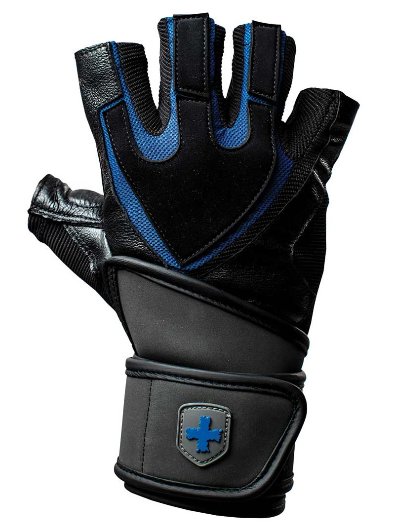 Men's Weightlifting gloves with wrist support by Harbinger