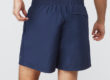 Navy Fundamental Clay Tennis Shorts by Fila, Back