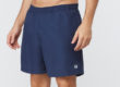 Navy Fundamental Clay Tennis Shorts by Fila, Side