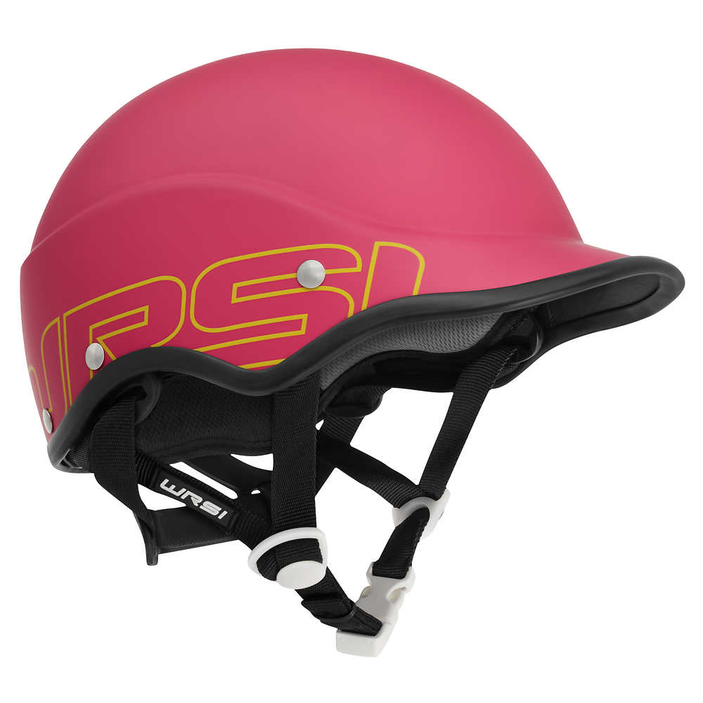 Pink Trident Composite Kayaking helmet by NRS