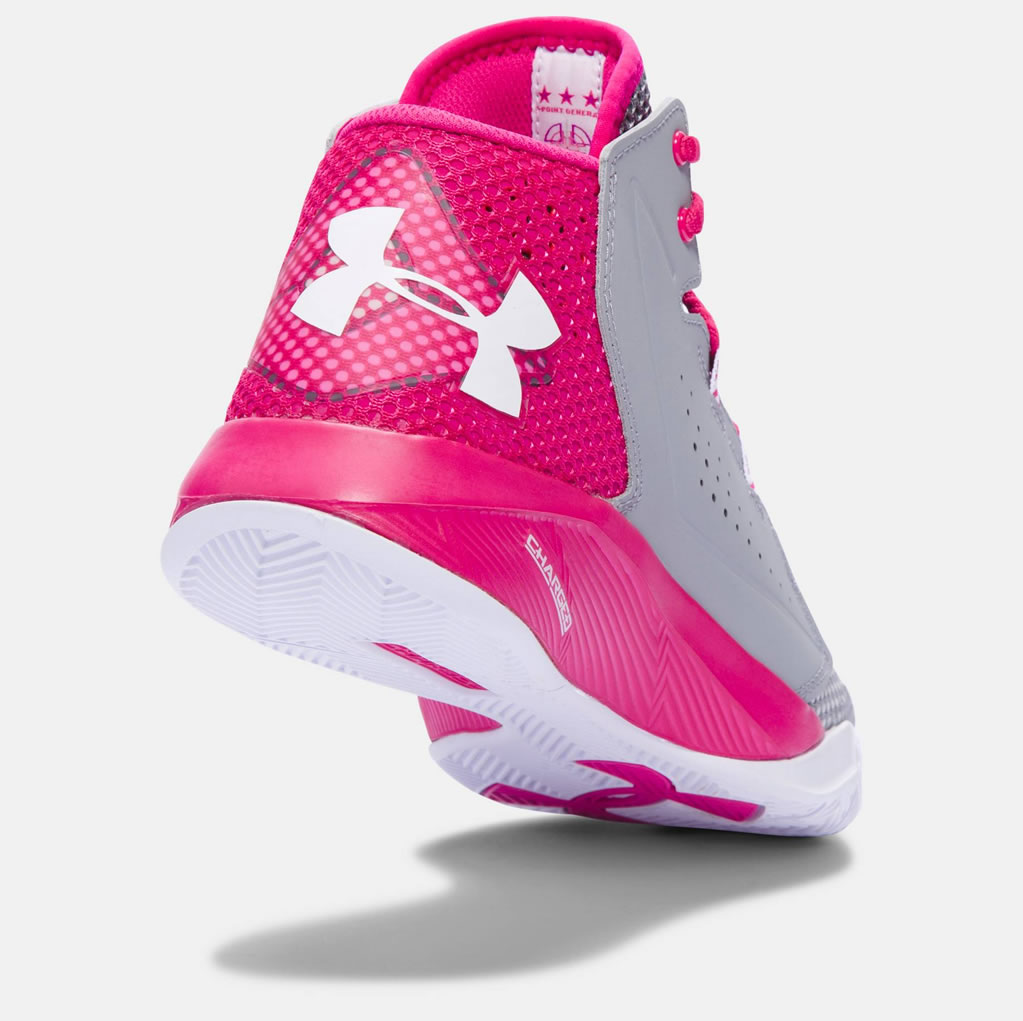 d3dc0e4264c9 Pink UA Torch Fade Women s Basketball Shoes