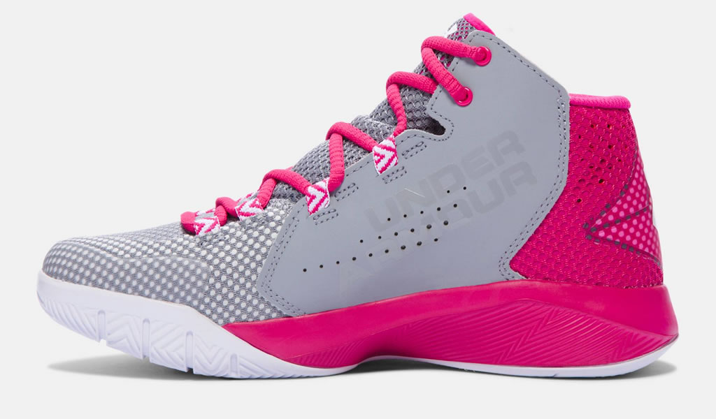 Womens Pink Basketball Shoes