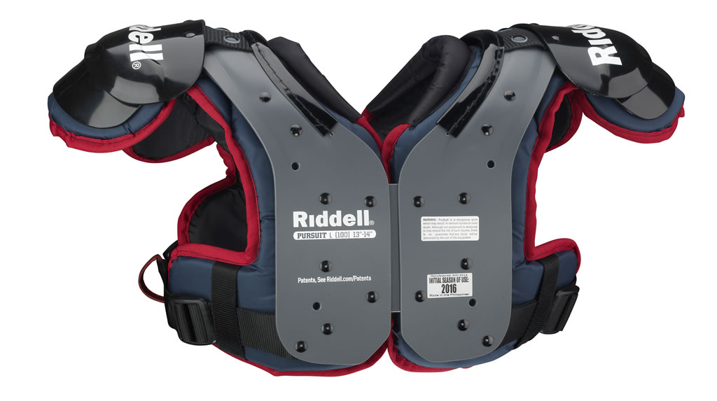 Pursuit Youth Football Shoulder Pads by Riddell