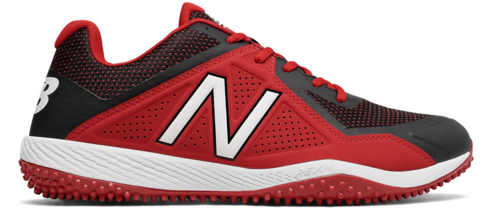 Red Turf 4040v4 baseball shoes by New Balance