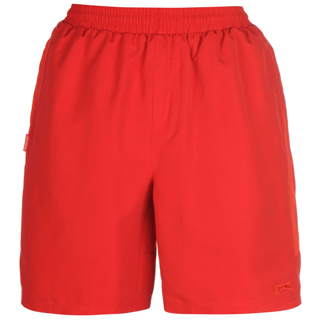 Red Woven Tennis Shorts by Slazenger
