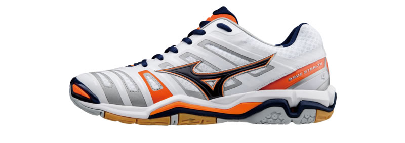 Wave Stealth 4 Handball Shoes by Mizuno