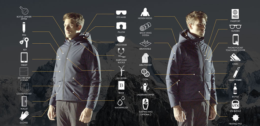 XY37 Super-Functional Jacket