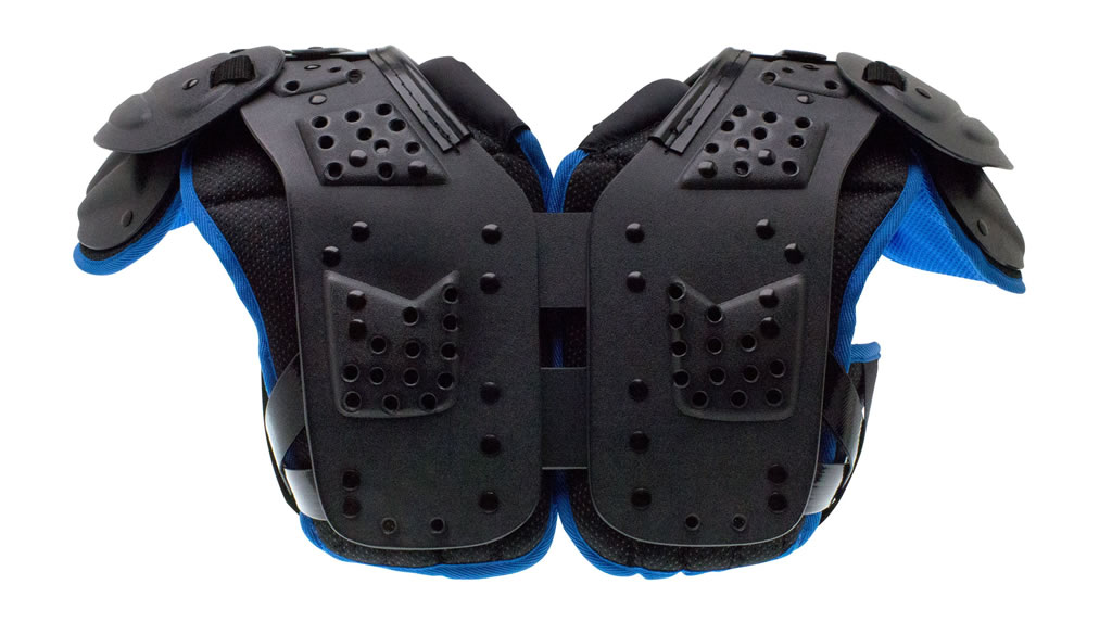 Youth Football Shoulder Pads by Schutt