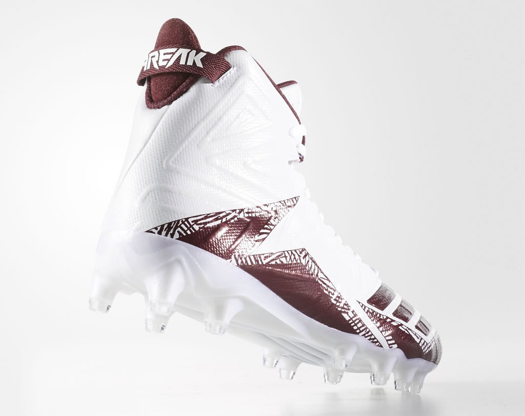 Adidas Freak X Carbon Mid Cleats, heel