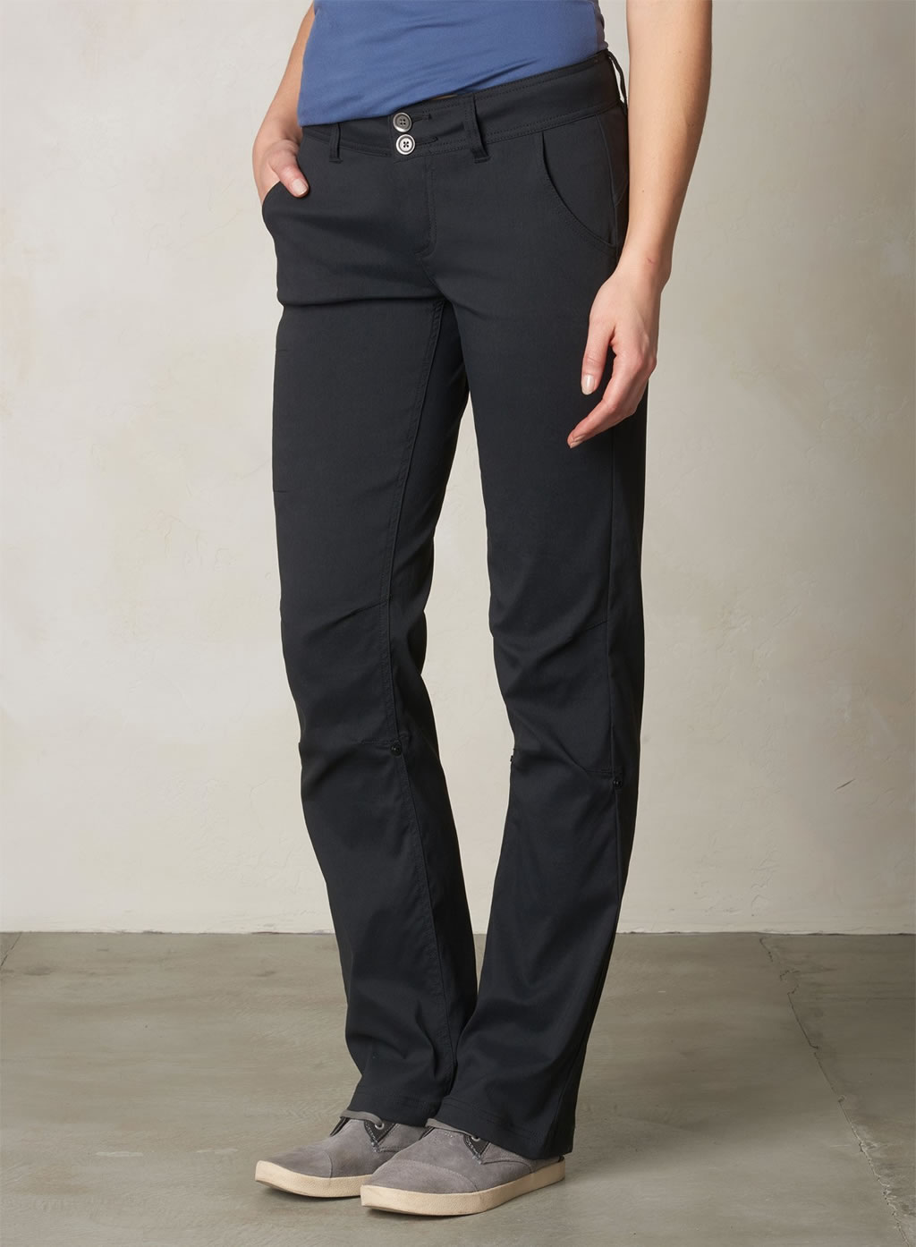 Black Halle Hiking Pants for women