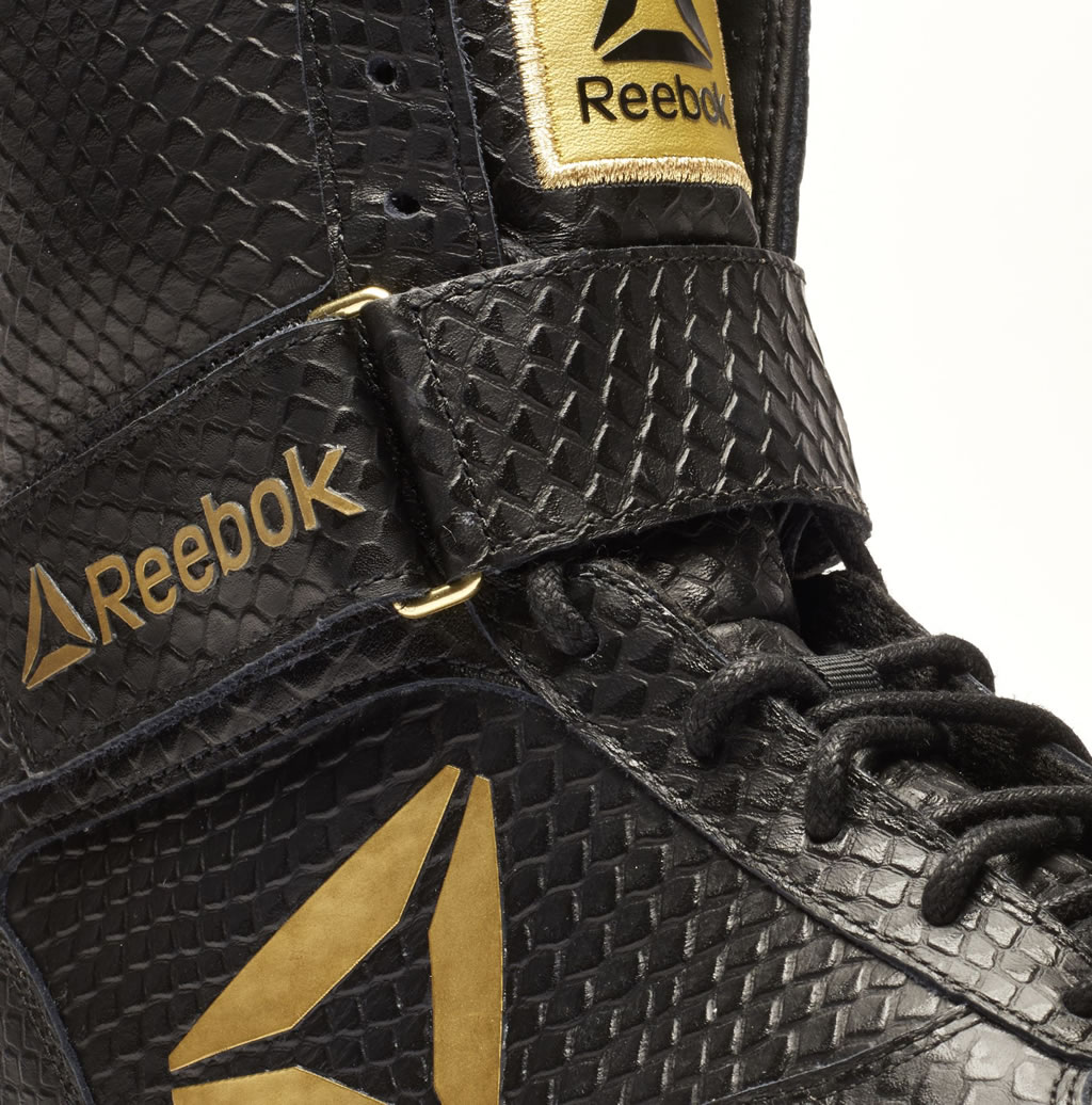 Black Legacy Boxing Boot by Reebok
