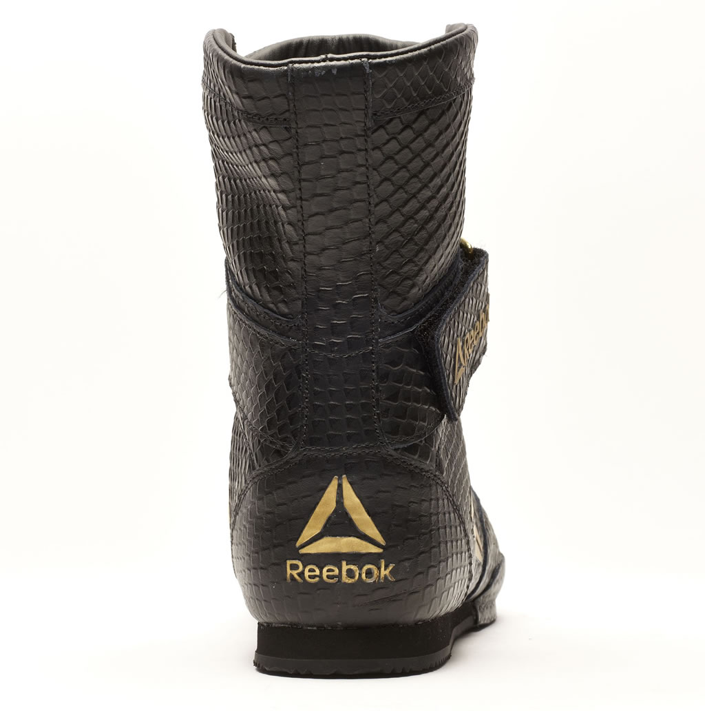 Black Legacy Reebok Boxing Boot, Heel