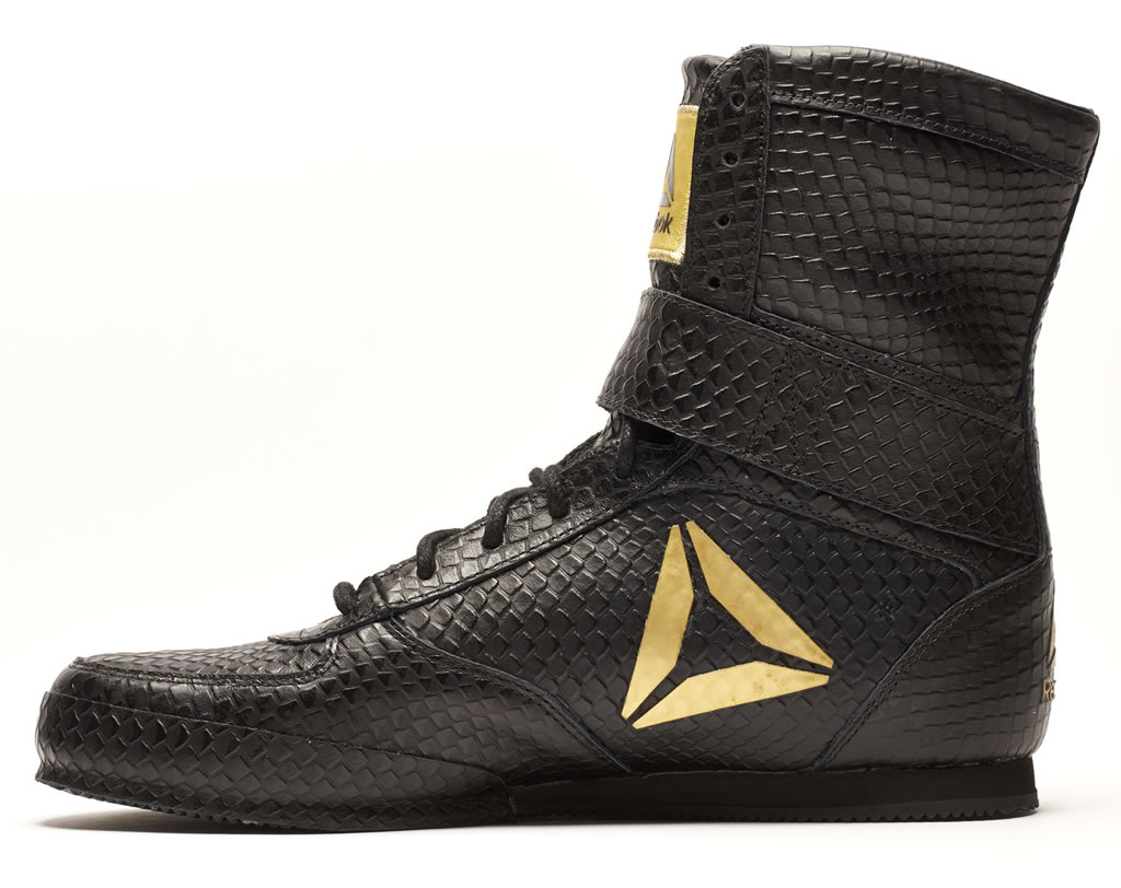 Black Reebok Boxing Boot - Legacy LTD, Side