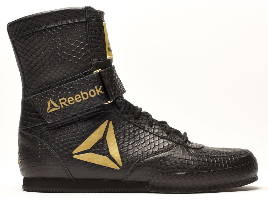 Black Reebok Boxing Boot - Legacy, Side