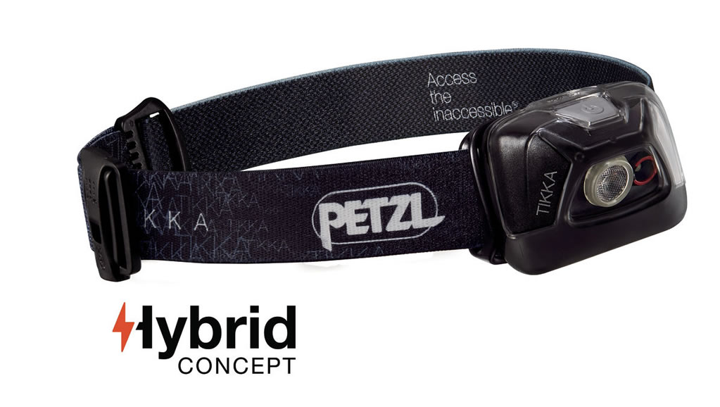 Black Tikka Headlamp by Petzl