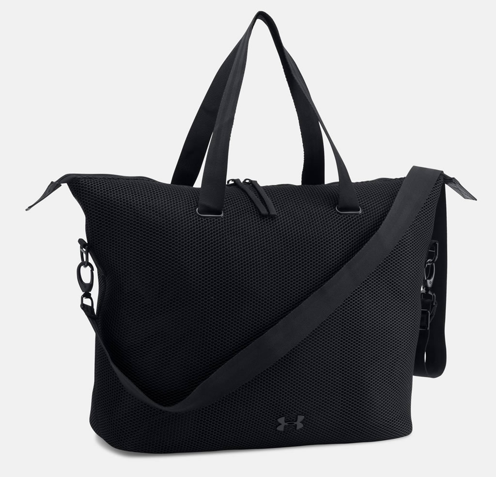 Black UA On The Run Tote Women's Studio Bag