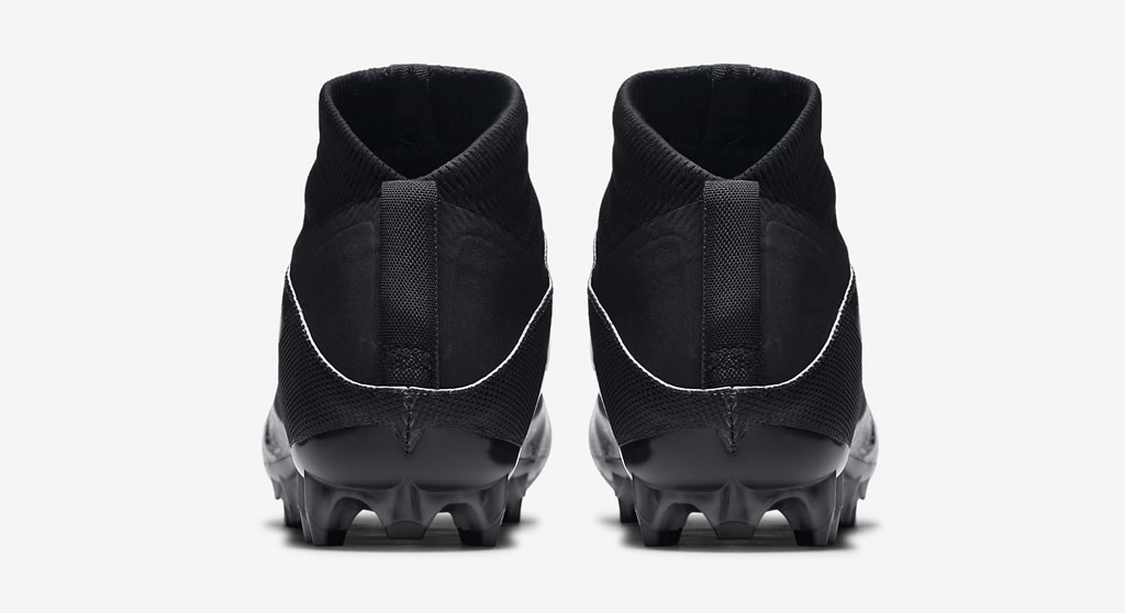Black Vapor Untouchable 2 by Nike , Heel