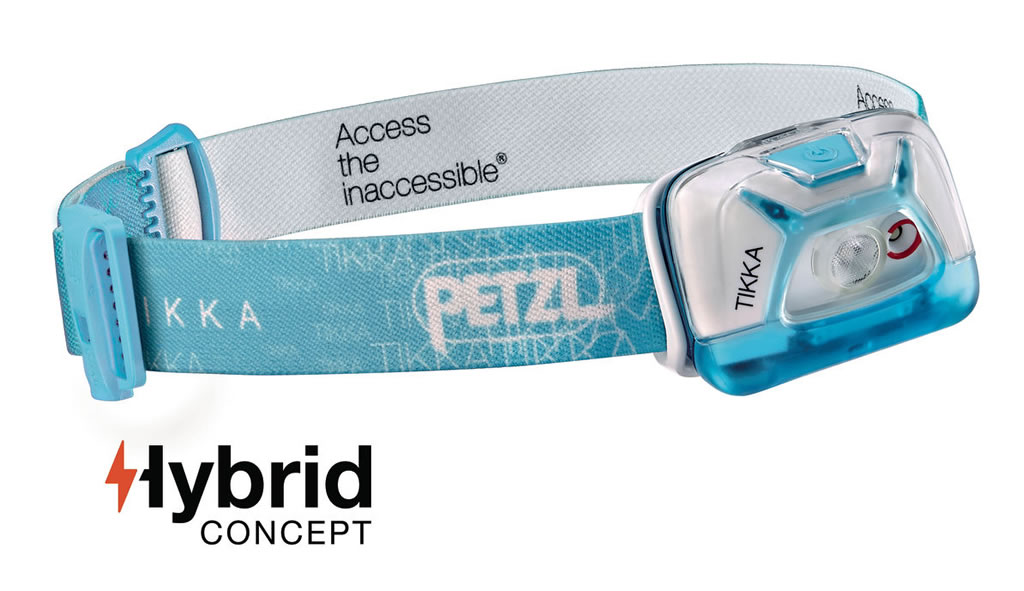 Blue Tikka Headlamp by Petzl