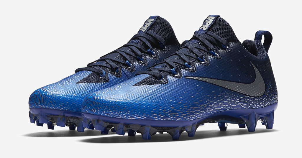 Blue Vapor Untouchable Pro Football Cleats