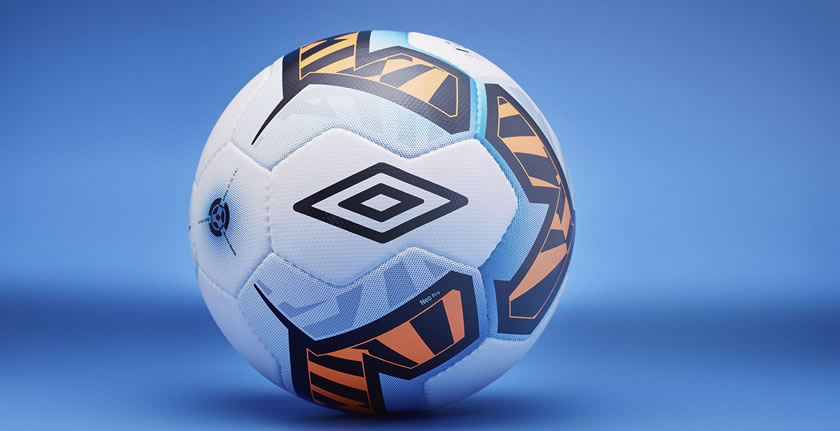 FIFA approved soccer ball by Umbro
