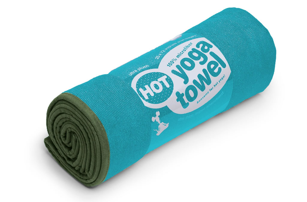 Forest Hot Yoga Towel