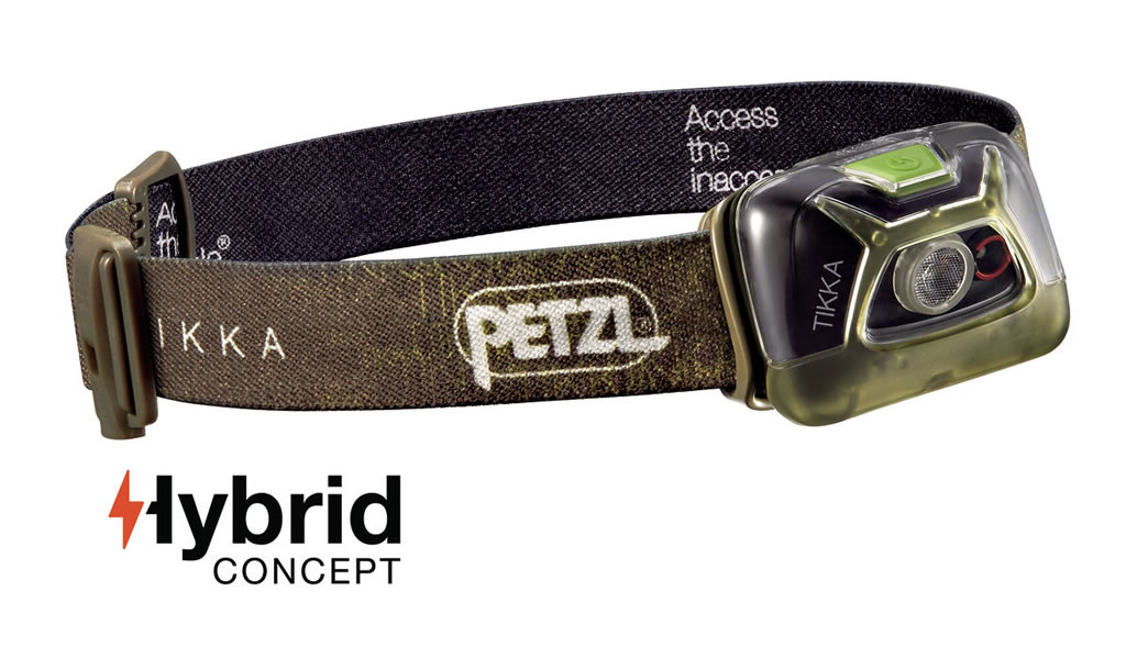 Green Tikka Headlamp by Petzl