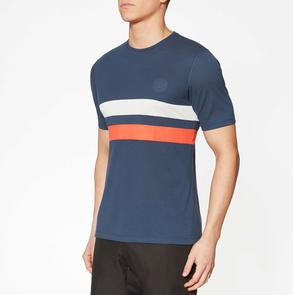 Iffley Road Running T-shirt for Men, Front