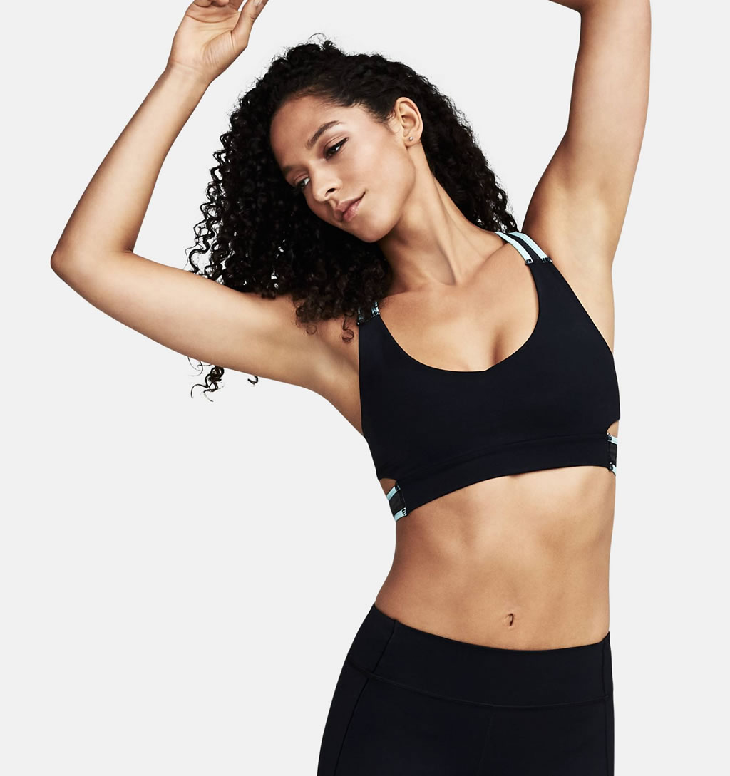 Misty Strappy Bralette Sports Bra by Under Armour