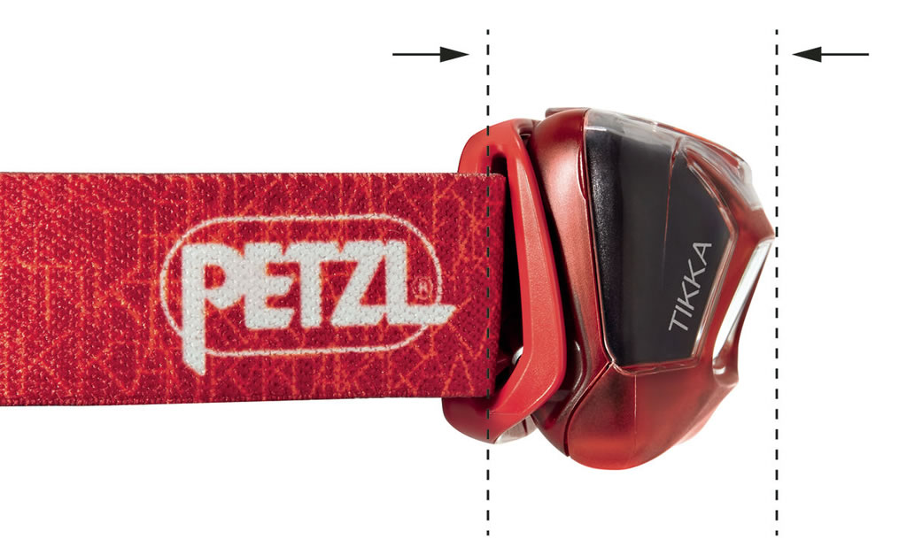 Red Tikka Headlamp by Petzl
