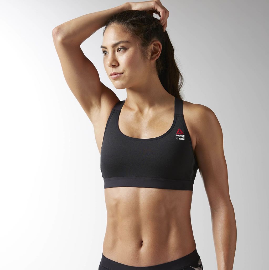 Fuller-busted women swear by this underwire sports bra, and for good reason—it goes up to size J! And unlike a lot of other sports bras, the Panache comes with wide, adjustable straps—ensuring you get the best support possible.