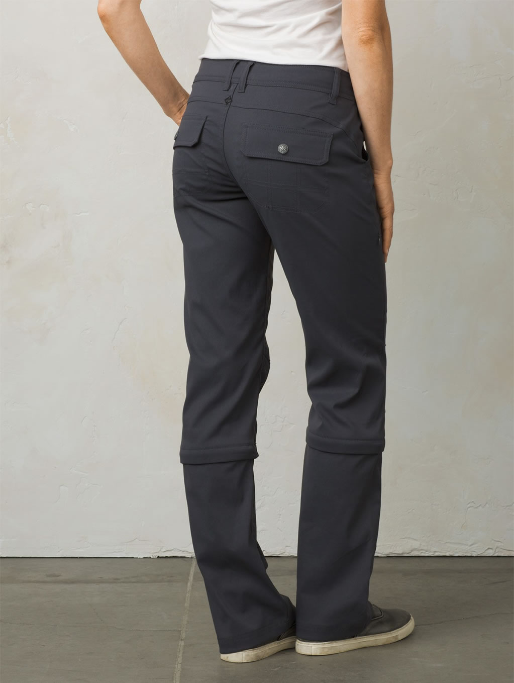 Women's Halle Convertible Pant by Prana, Back