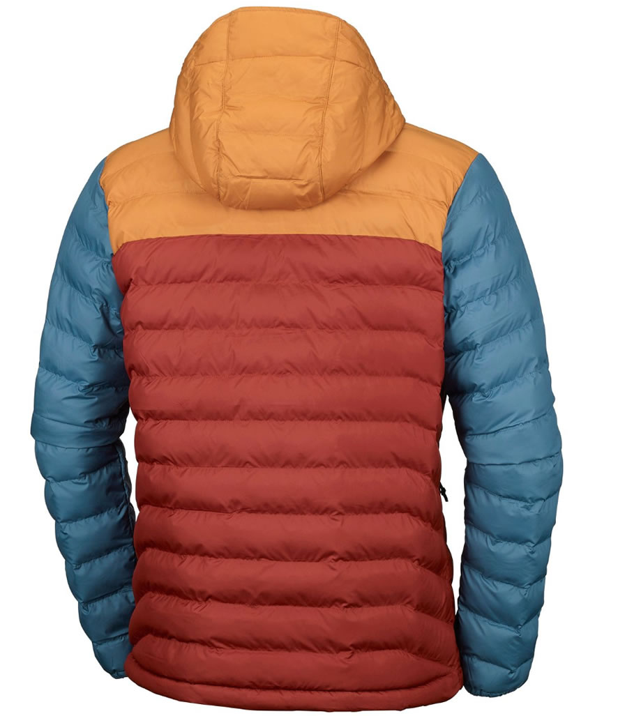 Columbia OutDry Ex Diamond Down Insulated Jacket, Back