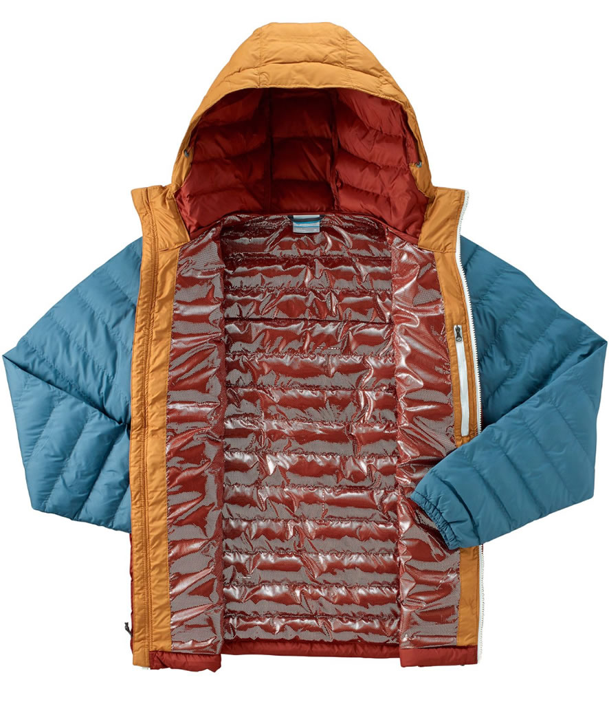 Columbia OutDry Ex Diamond Down Jacket, insulation