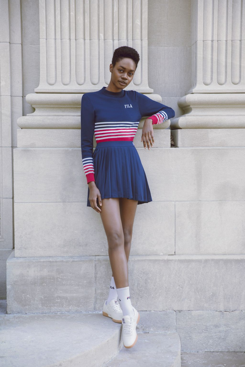 FILA Fall Winter 2017 Heritage Lookbook, Dress