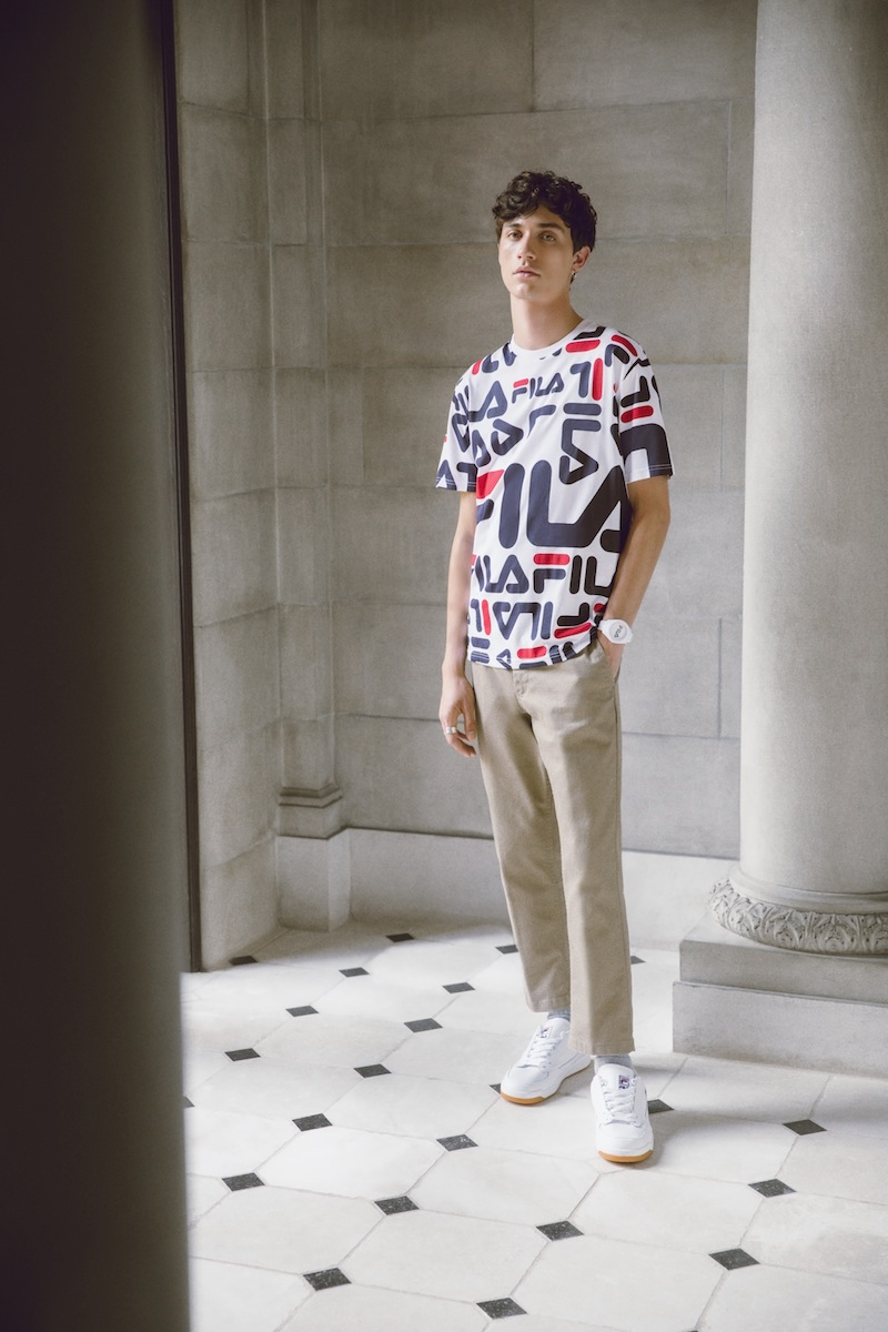 Fall Winter 2017 Heritage Lookbook by FILA, Men's Tee