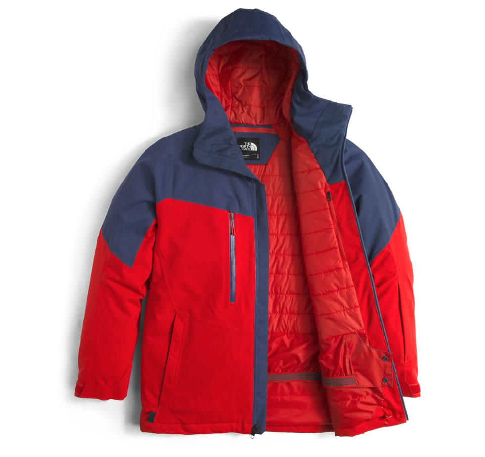 Men's jacket from The North Face, Layers