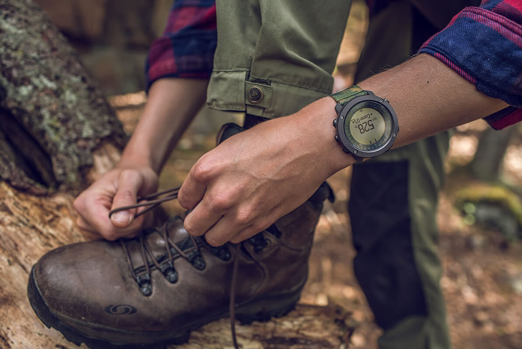 Woodland Traverse Alpha Watch for Hunting by Suunto