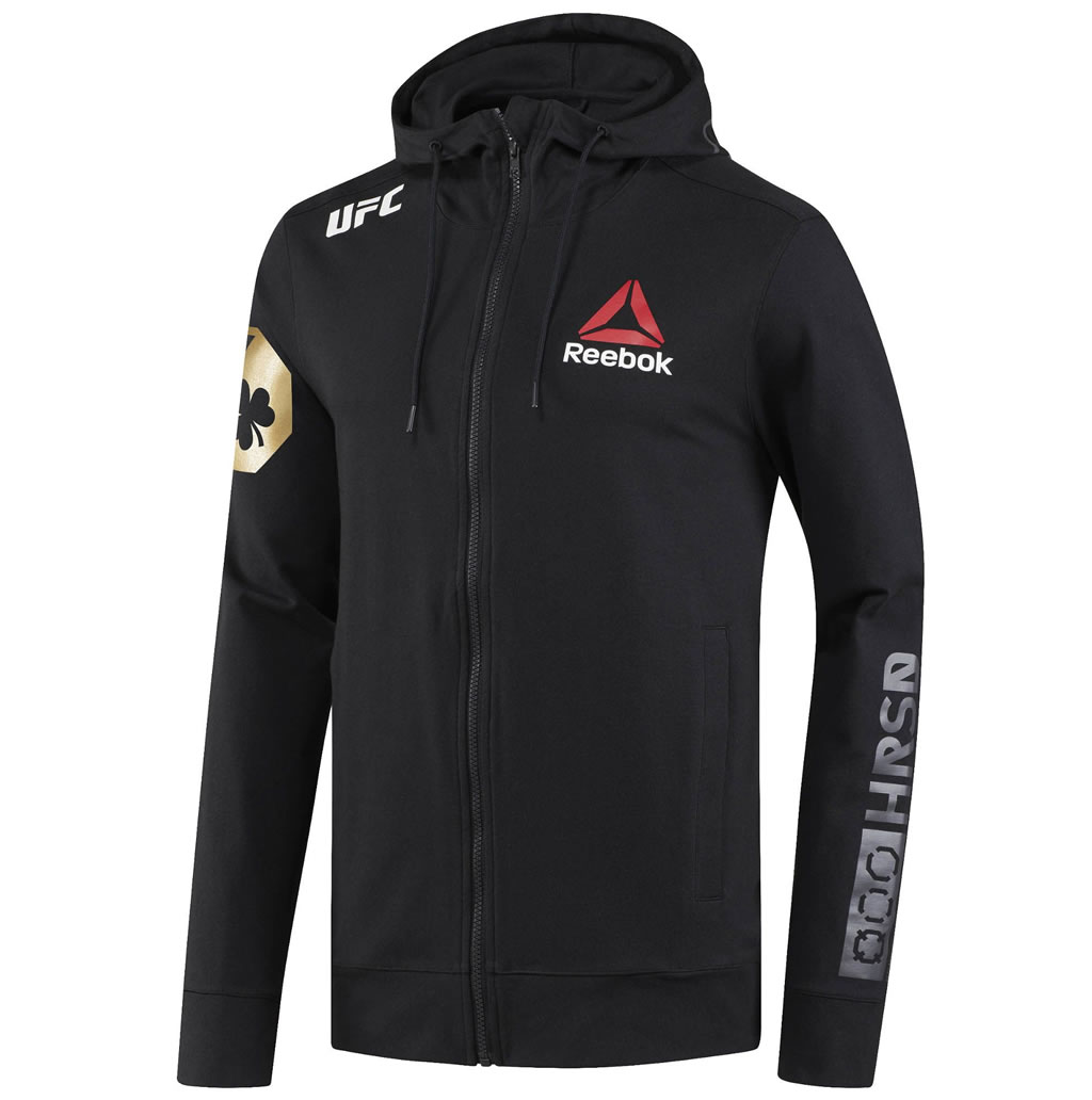Black UFC Conor McGregor Champ Walkout Hoodie