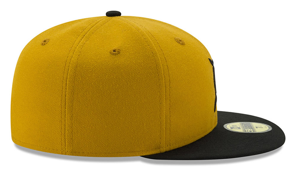 Gold Baseball Cap by New Era X Fear of God
