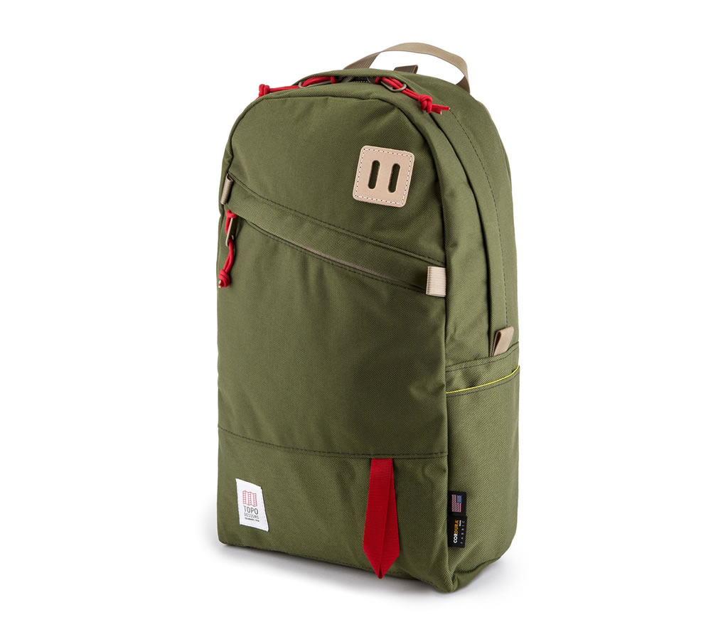 Green Daypack by Topo Designs