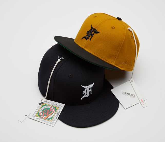 MBL Baseball Caps by New Era X Fear of God