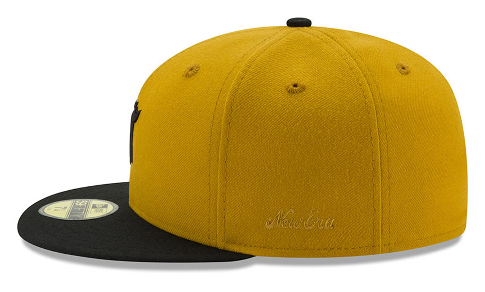 New Era X Fear of God Gold Baseball Cap