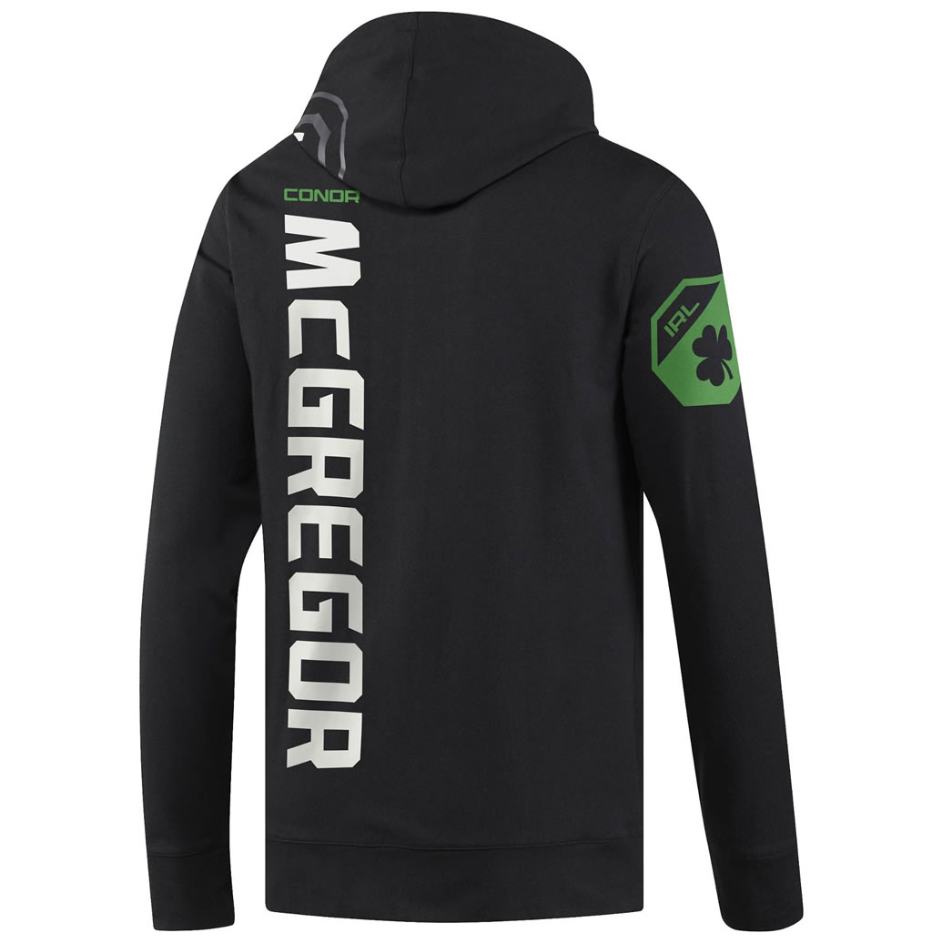 Reebok UFC Fight Night Conor McGregor Champ Walkout Hoodie , Back