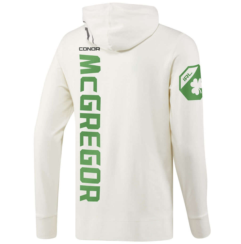 White UFC Conor McGregor Champ Walkout Hoodie
